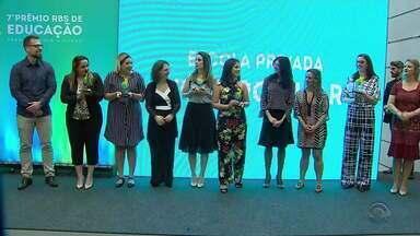 Conheça os vencedores do 7º Prêmio RBS de Educação - Assista ao vídeo.