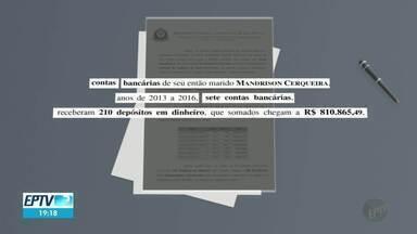 Ex-prefeita de Ribeirão Preto e seu ex-marido são acusados de ocultar mais de R$ 1,8 milhã - A Justiça aceitou a denúncia apresentada pelo Gaeco. Dárcy Vera e Mandrison Felix são acusados de lavagem de dinheiro.