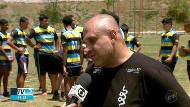 Rugby ganha destaque e conquista atletas em Guariba, SP - O jogo ainda é pouco conhecido no Brasil, mas tem crescido no mundo.