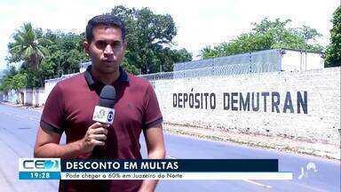 Demutran de Juazeiro do Norte oferece desconto em multas - Confira mais notícias em g1.globo.com/ce