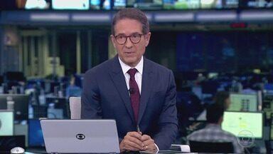 Jornal da Globo, Edição de segunda-feira, 04/11/2019 - As notícias do dia com a análise de comentaristas, espaço para a crônica e opinião.