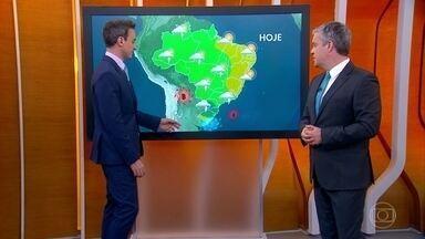 Chuva deve se espalhar pelo interior de São Paulo nas próximas semanas - Região tem registrado chuva abaixo do normal para a época, mas situação deve mudar nas próximas semanas.