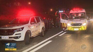 Policial reage e atira contra bandido após suspeito anunciar assalto em ônibus de Campinas - O ladrão morto pelo policial já tinha passagem por roubo e homicídio.