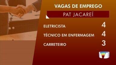 Confira oportunidades de emprego na região - Pat de São José oferece 33 vagas.