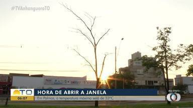 Confira como está o céu de Palmas na manhã desta terça-feira (5) - Confira como está o céu de Palmas na manhã desta terça-feira (5)