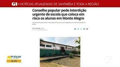 Confira as notícias em desta que no G1 Santarém e região - Acesse as notícias pelo celular, tablet ou computador.