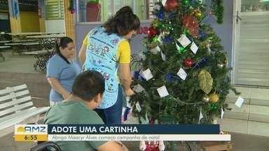 Abrigo Moacyr Alves começa campanha de Natal - Veja como adotar uma cartinha.