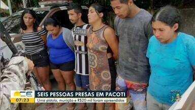 Grupo é preso em Pacoti com arma e munição - Saiba mais em g1.com.br/ce