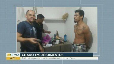 Traficante é preso e pode ter envolvimento no caso Flávio - Traficante é preso e pode ter envolvimento no caso Flávio.