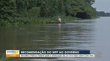 Ministério Público Federal pede a elaboração de um novo texto sobre a Cota Zero - Piracema já começou nos rios do estado.
