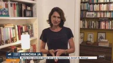 Maria Lins relembra época em que apresentou o Jornal do Almoço - Maria Lins relembra época em que apresentou o Jornal do Almoço