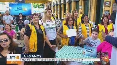 Quadro 'Desaparecidos' também faz parte da história do Jornal do Almoço - Quadro 'Desaparecidos' também faz parte da história do Jornal do Almoço