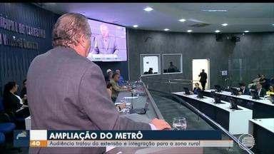 Audiência discute ampliação da linha do metrô em Teresina - Audiência discute ampliação da linha do metrô em Teresina