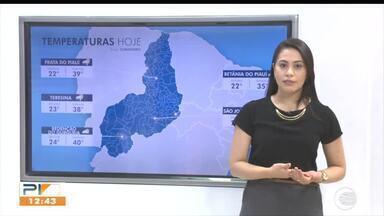 Confira a previsão do tempo para todo o o Piauí - Confira a previsão do tempo para todo o o Piauí
