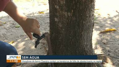 Fala Comunidade: falta de água em Boa Vista - Moradores do bairro Operário pedem ajuda de vizinhos para armazenar água.