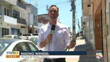 Problema de fios baixos é resolvido em Caruaru - Ocorrência estava acontecendo há meses e podia causar acidentes.