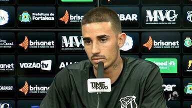 Thiago Galhardo fala sobre momento sem gols e preparação do Ceará para duelo com Inter - Thiago Galhardo fala sobre momento sem gols e preparação do Ceará para duelo com Inter