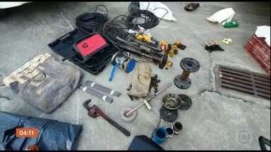 Operação da Polícia Civil desarticula quadrilha que desviava combustíveis da Petrobras - Entre os presos estão um policial militar e dois vigilantes, que deveriam fazer a segurança da tubulação.