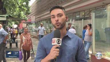 Apagão atinge regiões central e hospitalar de Belo Horizonte - Cemig informou que defeito no circuito da rede de distribuição subterrânea no hipercentro também provocou a interrupção no fornecimento no entorno da Praça Sete.