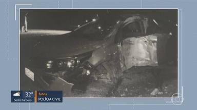 MG1: conclusão do inquérito que apura a morte de uma jovem de 25 anos em Contagem - Segundo o delegado Saulo de Tarso Castro, o motorista estaria embriagado.