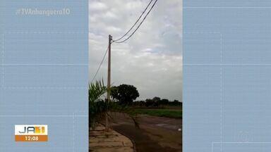 Reforma em postes da quadra 1305 Sul teria prejudicado a iluminação pública - Reforma em postes da quadra 1305 Sul teria prejudicado a iluminação pública