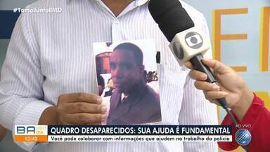 Desaparecidos: famílias procuram por parentes na Praça da Piedade nesta quarta-feira (6) - Quem tiver informações sobre as pessoas procuradas deve ligar para a Polícia Civil.