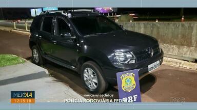 PRF prende homem por receptação em Santa Terezinha de Itaipu - Ele estava com veículo furtado.