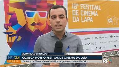 Começa hoje o Festival de Cinema da Lapa - Décima segunda edição do Festival vai oferecer diversas atrações de graça para a população e visitantes.
