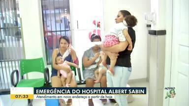 Emergência do Hospital Albert Sabin muda de endereço - Saiba mais em g1.com.br/ce