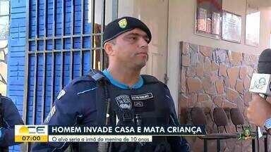 Homem invade casa e mata criança em Brejo Santo - Saiba mais em g1.com.br/ce