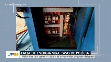 Polícia investiga constantes quedas de energia em São Miguel do Araguaia - Segundo o delegado, problemas vão contra o Código do Consumidor.