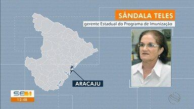 Vacina pentavalente será ofertada em unidades de saúde de Sergipe - Vacina pentavalente será ofertada em unidades de saúde de Sergipe.
