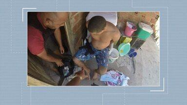 Homem é preso com metralhadora de uso restrito no Bairro Santa Maria - Homem é preso com metralhadora de uso restrito no Bairro Santa Maria.