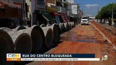 Prefeitura retoma obra de drenagem em Juazeiro do Norte - Saiba mais no g1.com.br/ce
