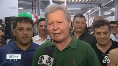 Galeria dos Remédios ganha duas novas etapas de ampliação, em Manaus - Prefeito esteve presente no evento.
