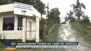 Adolescentes fogem de Casep em Joinville - Adolescentes fogem de Casep em Joinville