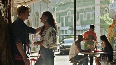 Rita confirma a Filipe que Rui é o pai de Nina - Ela garante ao namorado que não tem dúvidas sobre a paternidade da filha