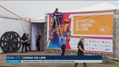 Festival de Cinema da Lapa movimenta a cultura e a economia da cidade - Até o fim de semana, dezenas de filmes serão exibidos de graça.