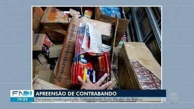 Dupla flagrada com produtos contrabandeados é liberada em audiência de custódia - Abordagem ocorreu em Irapuru.