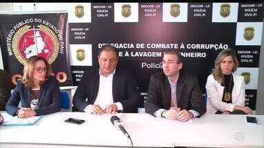 Polícia e MPPI cumprem mandados de busca por irregularidades em empresas de concursos - Polícia e MPPI cumprem mandados de busca por irregularidades em empresas de concursos