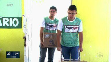 Alimentos arrecadados no Preparação foram entregues a uma instituição de Petrolina - No fim do mês de outubro, foi realizado o projeto preparação, da TV Grande Rio.