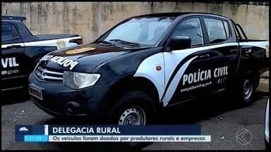 Delegacia Rural é inaugurada em Araxá para atender municípios da região do Alto Paranaíba - Unidade vai contar com um delegado, um escrivão, três investigadores e quatro funcionários administrativos.