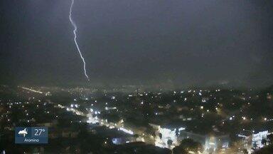 Temporal causa transtornos em Ribeirão Preto, Batatais e Jardinópolis, SP - Chuva forte causou pontos de alagamento e a enxurrada danificou carros.