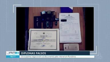 Polícia desarticula quadrilha que vendia diplomas falsos - Operação aconteceu em Ji-Paraná.
