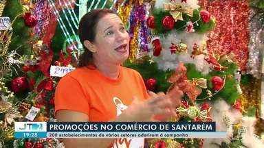 Promoções são realizadas no comércio de Santarém - Até o dia 9 de novembro, cerca de 200 estabelecimentos comerciais estarão com promoções e descontos por conta da campanha 'liquida Santarém'.