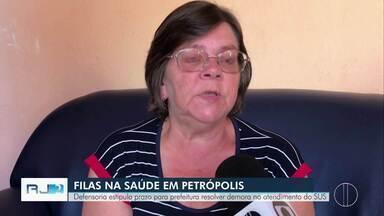 Defensoria estipula prazo para prefeitura resolver demora no atendimento do SUS - Caso acontece em Petrópolis.
