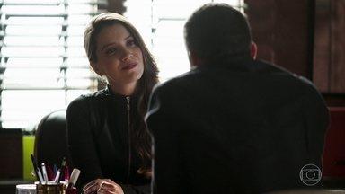 Fabiana se enfurece com Agno após ameaça - Agno diz que Fabiana terá uma surpresa