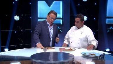 Claude experimenta os pratos do Time Kátia - Confira!
