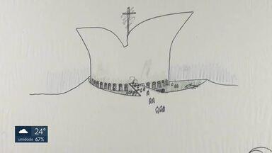 GDF pretende construir Museu da Bíblia, mas entidades de arquitetura questionam - Governo quer usar croquis feitos por Oscar Niemeyer, mas arquitetos e urbanistas questionam gasto.