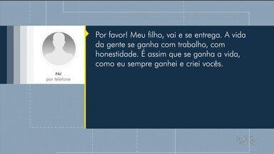 Ao saber que filho era responsável por assalto, pai pede para ele se entregar - Suspeito foi preso e confessou ter assalto mulher em Londrina.